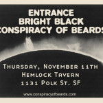 Hemlock Tavern w/Entrance, Bright Black
