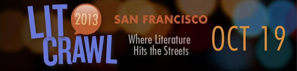 Lit Craw San Francisco October 19, 2013