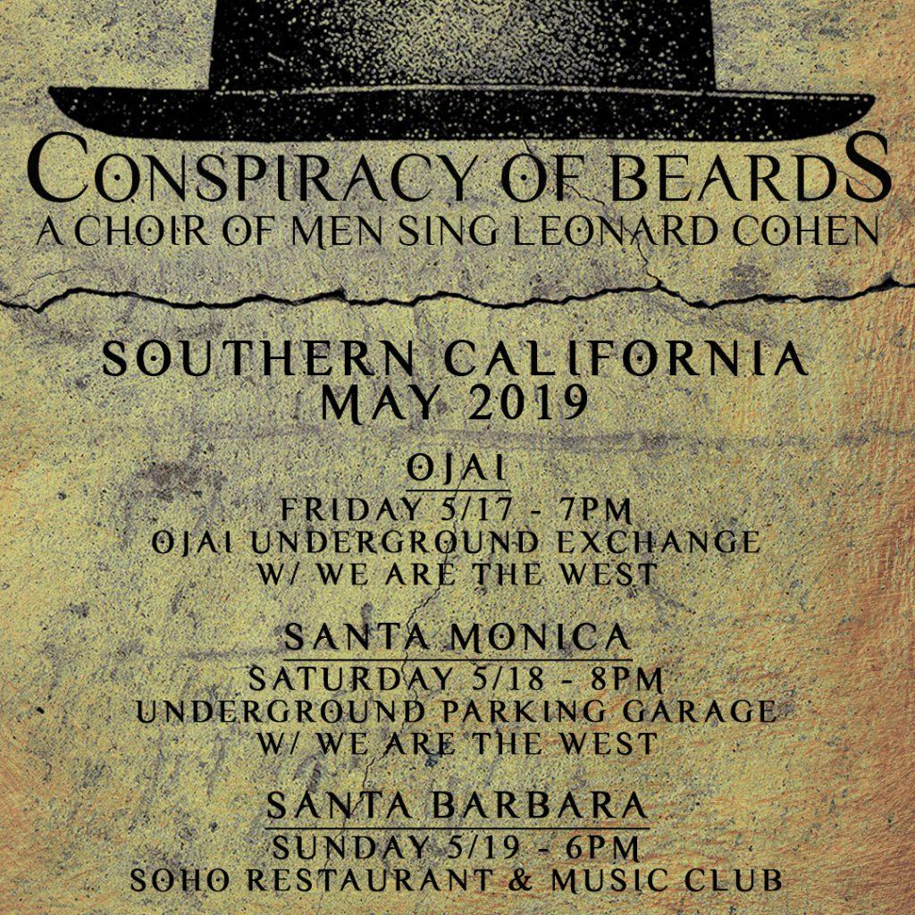 Beards socal tour May 2019